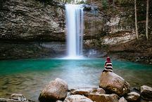Styled Waterfall Bridal Shoot
