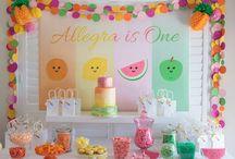 ♥ Tutti Frutti Party Ideas ♥
