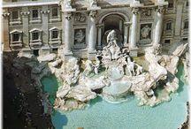 Fontana di Trevi / Dettagli e visioni romane...