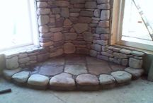 fireplace/stove ideas / by Sherry Jennings