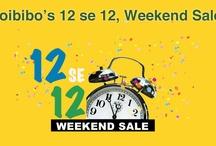 Goibibo's 12 se 12 Weekend Sale