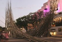 Brisbane Festival / Bamboo Structures