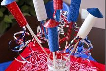 Patriotic Crafts/Recipes / Celebrate American holidays with these red, white, & blue crafts and recipes / by JAM Paper