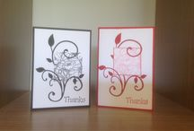 Thank you cards by Marcia / Thank you cards