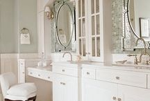 dressing vanity @ bathroom