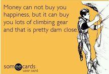 Climbing humor