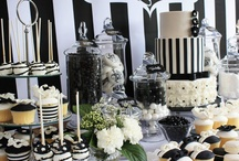 Black & white Buffet