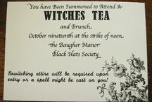 Witches Tea Party / by Keri Demski-Baker