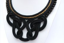 Folenta rope necklace / Hungarian designer handmade jewellery