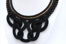 Folenta rope necklace / Hungarian designer handmade jewellery