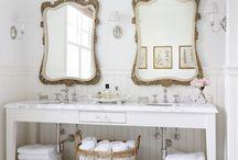 * Bathrooms * / -Bathrooms ideas, shelves and decor...-