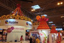 Exhibition Stand decor / Balloon decor corporate stands