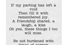 Funerals verse