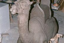 my works / Sculptures, decorations, sculture, decorazioni