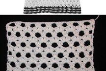 sweter blanco y negro