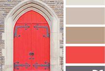 Colour palets
