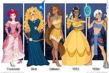 The odd world of Disney princesses