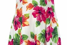 Tropical Hawaiian Dresses