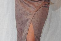 spódnice haftem wykańczane