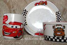 CARS Dinnerware Set