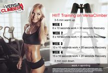 VersaClimber Training Tips / Learn the tips and secrets on how to lose weight, tone muscles and build insane cardio and stamina using VersaClimber.