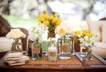 garrafas, copos e vasinhos