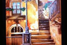 Opere 2013 / Some oil paint from Manuela Citti Painter Rome Italy