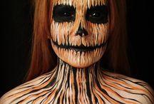 Halloween Face Paint + Masks