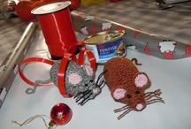 Juguetes Crochet para gatitos