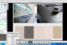 Per gli INTERIOR DESIGNERS / Foto prese da lezione sui materiali durante il corso di Interior design