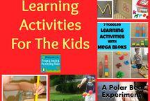 zinātnes un mācību aktivitātes bērniem