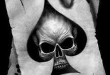 Tête de mort / Tatouage-mode-bracelet