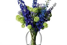Vases and Centrepieces / Our stunning vases that will display beautiful blooms and your favourite flowers to full dramatic effect.