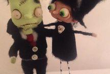 Halloween figures / by Jennifer Kenney