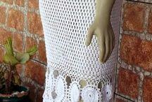 vestidos largos crochet