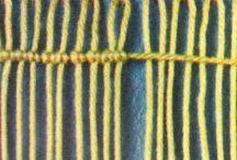 Intrecci con corde o fili