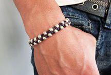 Men's Beaded Jewelry / by Boston Bead Company
