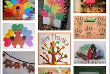 Thanksgiving-kids / by Crista y