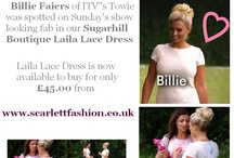 Celebs in our clothes!