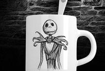 TEESNEY Hand printed cartoon t-shirts, mugs, mouse pads, pillows and coasters / https://www.etsy.com/shop/Teesney?ref=seller-platform-mcnav  https://teesney.com/