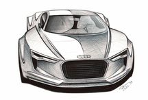 Sketches of Concept Cars