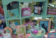 Display Booths Craft Fair Tables / How to show off your products effectively at craft fairs.  / by Knit Wit