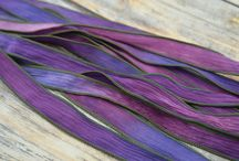 silk ribbon for jewellery