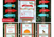 Fiesta Party Ideas / Ideas for a Mexican Birthday Party!