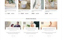 Bridal Website Inspiration