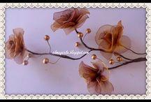 flores alambre