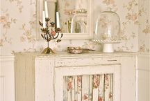 Cupboards / Vintage cupboards, cabinets, armoires, china cabinets, Welsh dressers, etc.