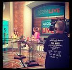 Behind the Scenes / A glimpse into my world: on the television set, traveling, and more.