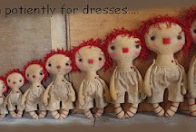 Primitive Raggedy dolls