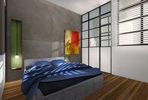 appartement / projet de rénovation, aménagement et decoration design d'intérieur